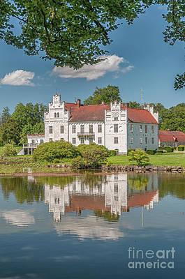 Photograph - Wanas Castle Reflection by Antony McAulay