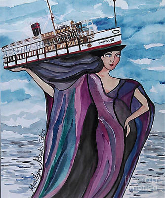 Painting - Wanda IIi by Marilyn Brooks