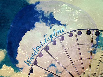 Photograph - Wander And Explore by Robin Dickinson