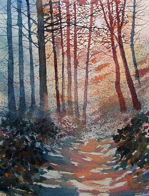 Painting - Wander In The Woods by Glenn Marshall