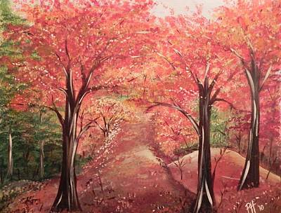 Painting - Wander by Patti Spires Hamilton