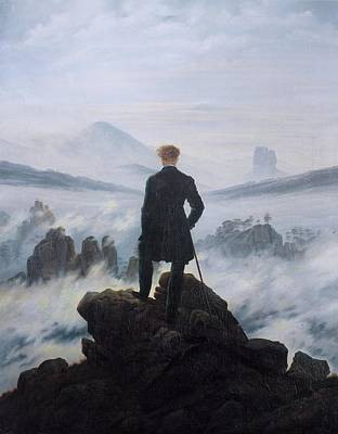 Painting - Wanderer Above The Sea Of Fog by Caspar David Friedrich