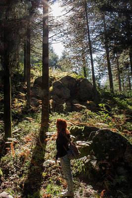 Observer Photograph - Wanderer by Elisa De Marco
