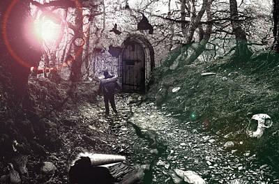 Pyrography - Wanderer  by Mariusz Zawadzki