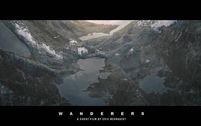 Landscape Digital Art - Wanderers by Maye Loeser