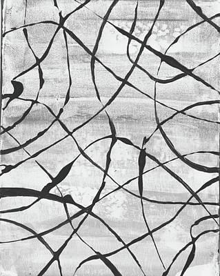 Avondet Wall Art - Mixed Media - Wandering by Natalie Avondet