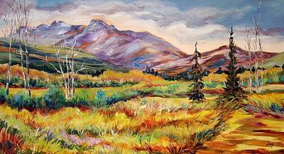 Painting - Wandering On A Summer Day   by Nancy Day
