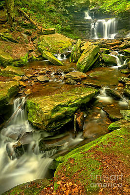 Photograph - Wandering Waterfalls by Adam Jewell