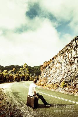 Country Road Wall Art - Photograph - Wanderlust Southwest Tasmania by Jorgo Photography - Wall Art Gallery