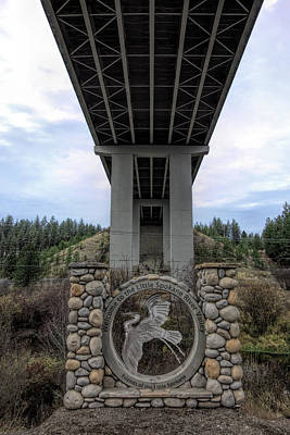 Photograph - Wandermere Bridge - North Spokane by Daniel Hagerman