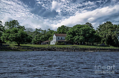 Photograph - Wando River Farm by Dale Powell