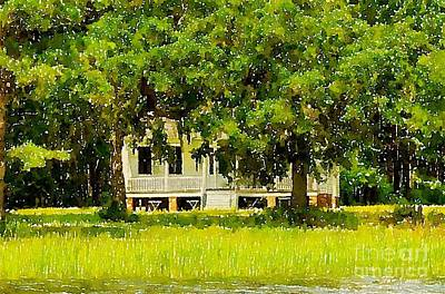 Photograph - Wando River Homestead by Dale Powell