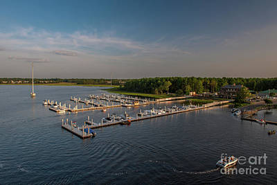 Photograph - Wando River Marina by Dale Powell