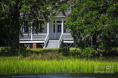 Photograph - Wando River Plantation - Mount Pleasant by Dale Powell