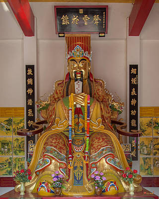 Photograph - Wang Sam Sien Guan Yu Shrine Dthcb0050 by Gerry Gantt
