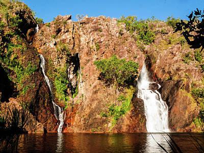 Photograph - Wangi Waterfalls, Litchfield National Park by Lexa Harpell
