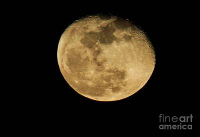 Photograph - Waning Gibbous by David Bearden