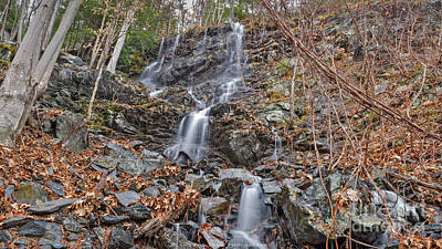Photograph - Wantastiquet Trail Falls by Along The Trail