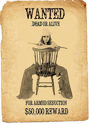 Photograph - Wanted Alive by Doug Matthews