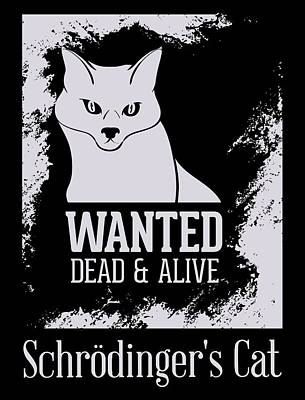 Digital Art - Wanted Dead And Alive by Christopher Meade