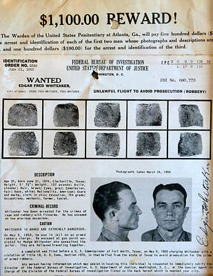 Photograph - Wanted Poster by David Lee Thompson