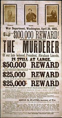 Photograph - Wanted Poster For The Assassins by Everett