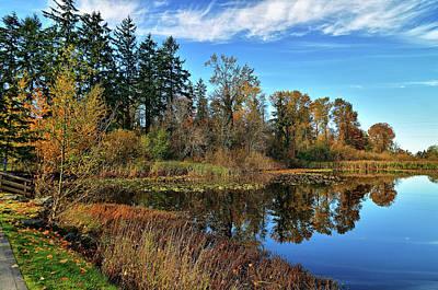 Wapato Photograph - Wapato Lake by Tim Coleman