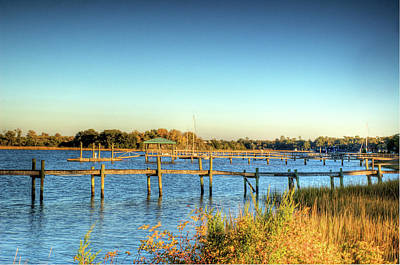 Lowcountry Marshes Photograph - Wappoo Cut by Drew Castelhano