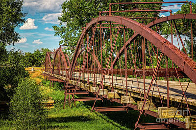 War Bridge Print by Jon Burch Photography