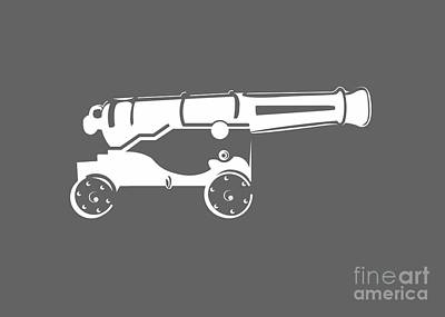 War Cannon Original by Frederick Holiday