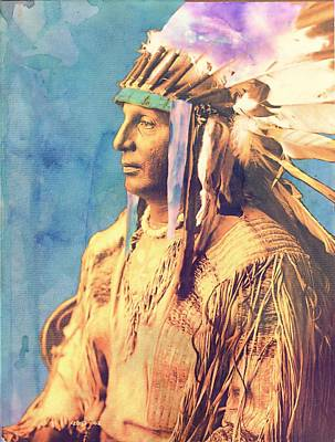Photograph - War Chief by Bonfire Photography