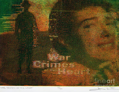 Digital Art - War Crimes Of The Heart by George D Gordon III