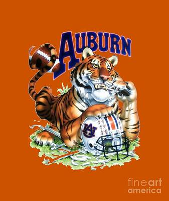 War Eagle  Art Print by Herb Strobino
