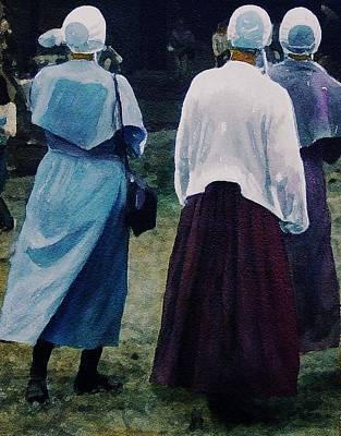 War Eagle Ladies Art Print by Tom Herrin