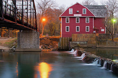 Photograph - War Eagle Mill - Northwest Arkansas Usa by Gregory Ballos