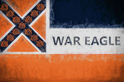 War Eagle Mississippi Art Print by JC Findley