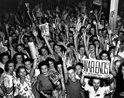 Blue Hues - War ends, Oakridge Tennessee 1945 by David Lee Guss