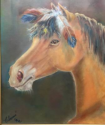 Painting - War Horse by Charme Curtin
