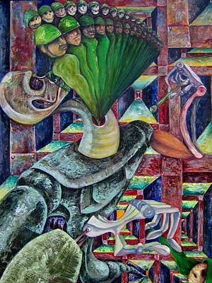 War Hunger Art Print by Horacio  Montes