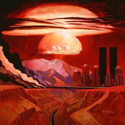 Painting - War Is Peace by Art West