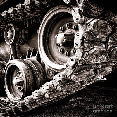 War Machine Art Print by Olivier Le Queinec