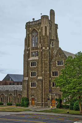 War Memorial Lyon Hall Cornell University Ithaca New York 03 Art Print by Thomas Woolworth