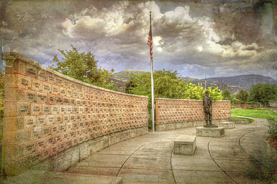 Photograph - War Memorial Series - Iraq - Afghanistan by Donna Kennedy