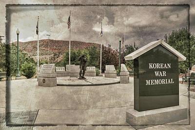 Photograph - War Memorial Series - Korean War by Donna Kennedy