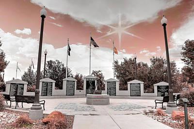 Photograph - War Memorial Series - Vietnam War by Donna Kennedy