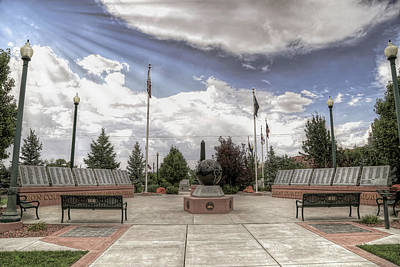 Photograph - War Memorial Series- W W 2 by Donna Kennedy