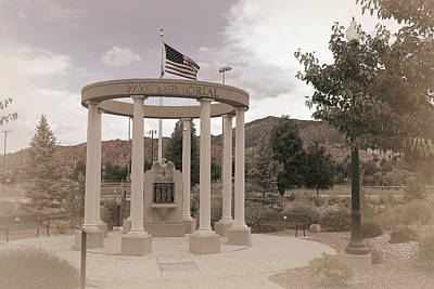 Photograph - War Memorial Series - W W 1 by Donna Kennedy