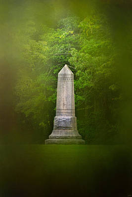 Photograph - War Monument In Spring by Jai Johnson