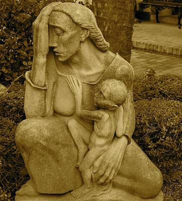 Photograph - War Mother By Charles Umlauf by Gia Marie Houck