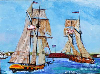 Painting - War Of 1812 In S.carolina by Bill Hubbard